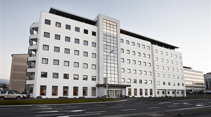 Reykjavik, Hotel Cabin, Façade hotel