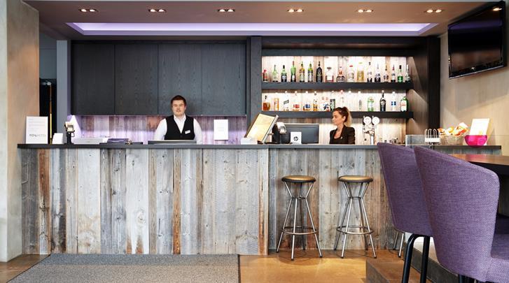 Reykjavik, Hotel Fosshotel Raudará, Receptie