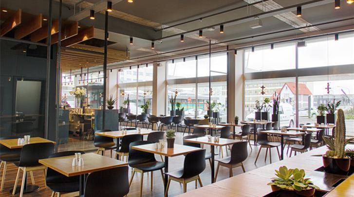Reykjavik, Hotel Midgardur, Restaurant
