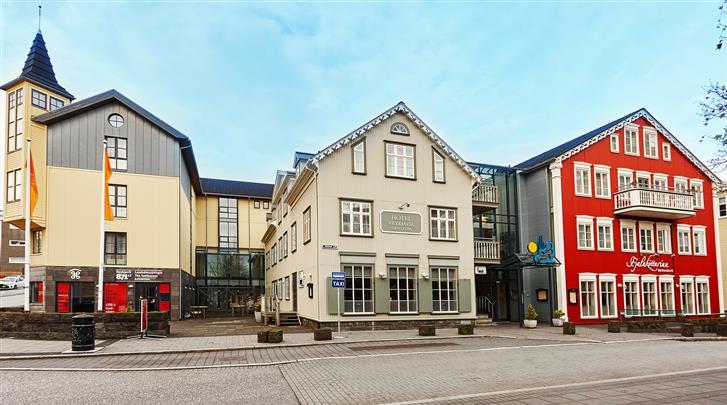 Reykjavik, Hotel Reykjavik Centrum, Façade hotel