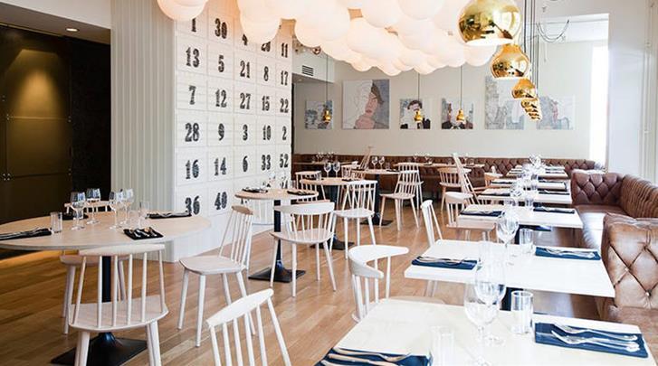 Reykjavik, Hotel Reykjavik Centrum, Restaurant