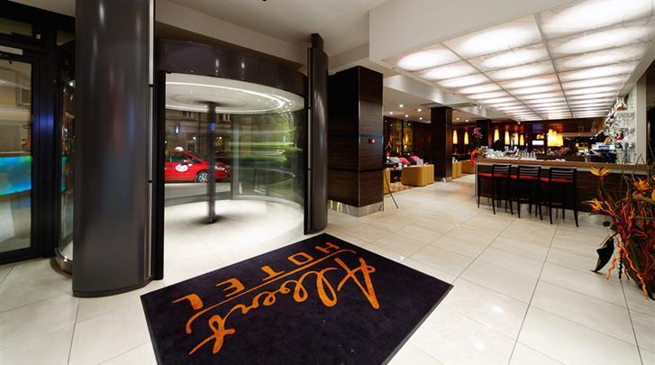 Riga, Hotel Albert, Lobby