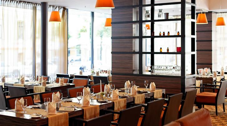 Riga, Hotel Albert, Restaurant