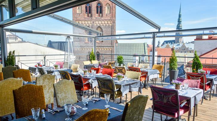 Riga, Hotel Gutenbergs, Restaurant