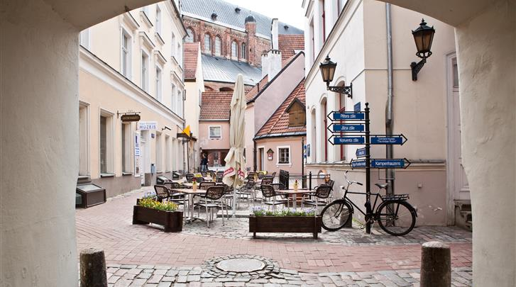 Riga, Hotel Rixwell Konventa Seta, Façade hotel