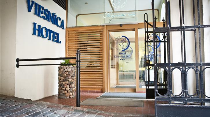 Riga, Hotel Rixwell Konventa Seta, Receptie
