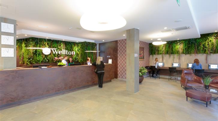 Riga, Hotel Wellton Riga, Receptie