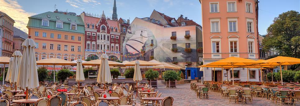 Riga, Riga terras