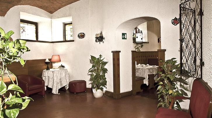 Rome, Hotel Bled, Restaurant