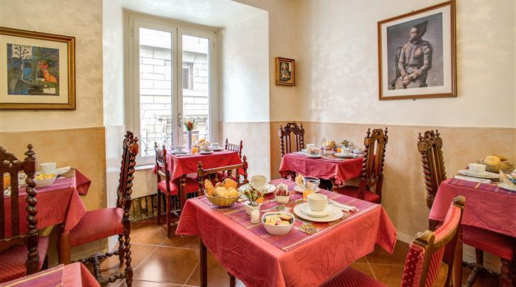 Rome, B&B Pablo, Ontbijtruimte in hotel Picasso