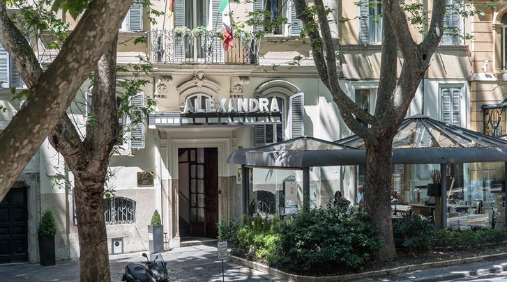 Rome, Hotel Alexandra