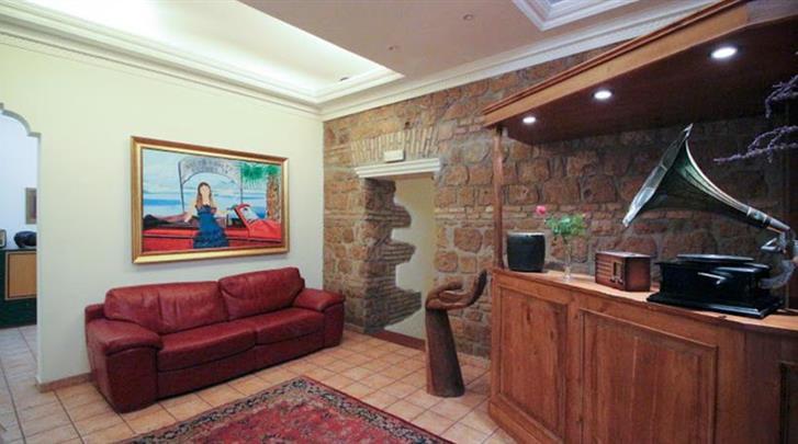 Rome, Hotel Alexis, Receptie