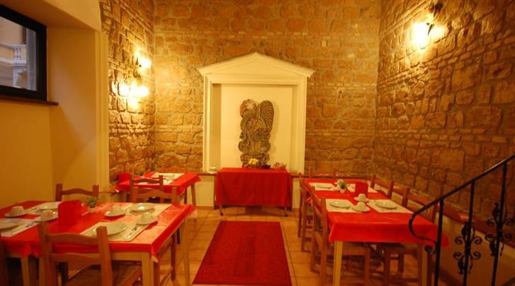Rome, Hotel Alexis, Restaurant
