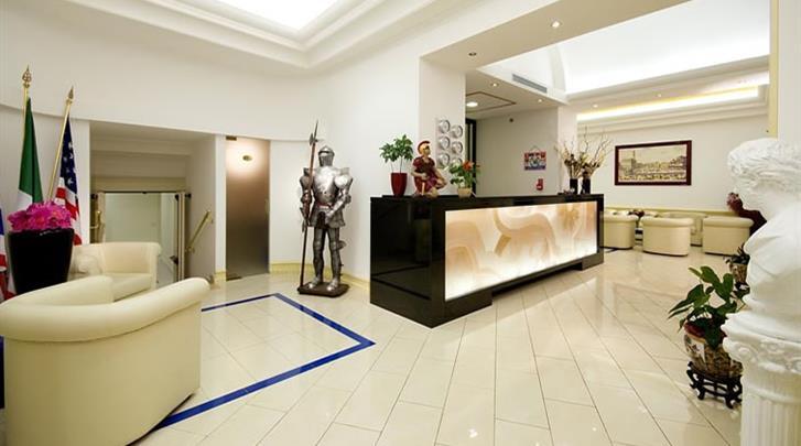 Rome, Hotel Anglo Americano, Receptie
