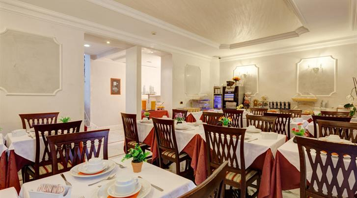 Rome, Hotel Best Roma, Restaurant