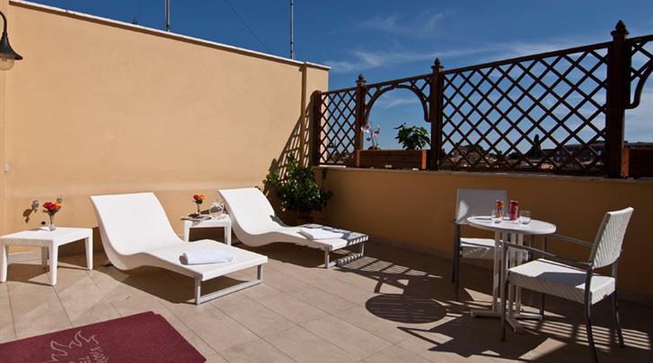 Rome, Hotel Best Roma, Terras