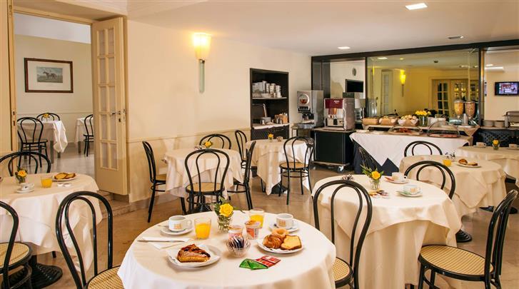 Rome, Hotel Buenos Aires, Ontbijtruimte