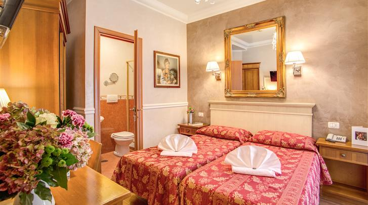 Rome, Hotel Caravaggio, Standaard kamer