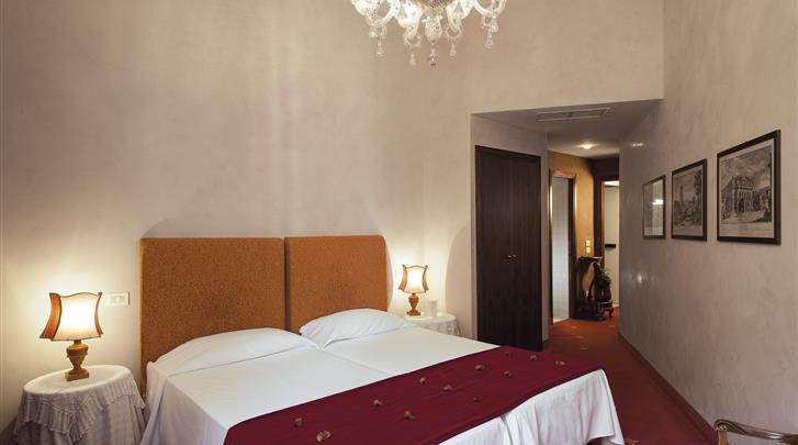 Rome, Hotel Columbia, Standaard kamer