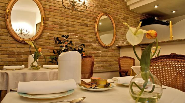 Rome, Hotel Concordia, Ontbijtruimte
