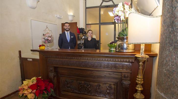 Rome, Hotel Domus Sessoriana, Receptie
