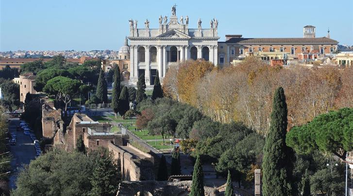 Rome, Hotel Domus Sessoriana, Uitzicht
