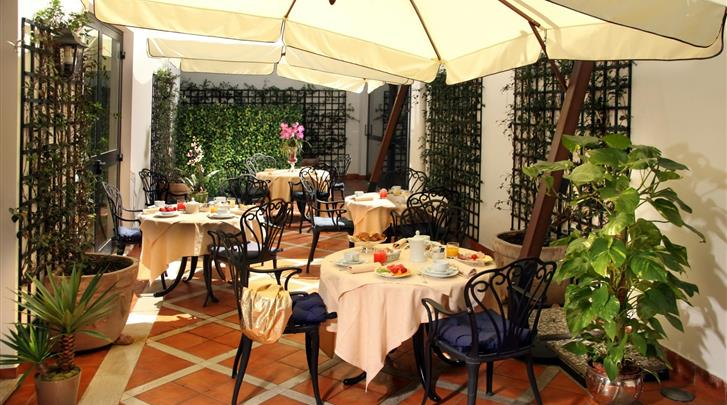 Rome, Hotel Donna Laura Palace, Restaurant