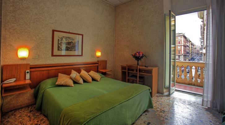 Rome, Hotel Embassy, Standaard kamer