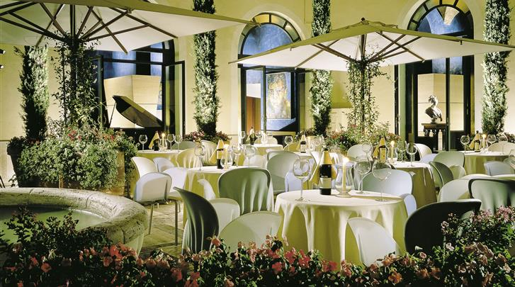 Rome, Hotel Empire Palace, Restaurant