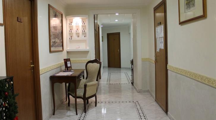 Rome, Hotel Fiori, Gang