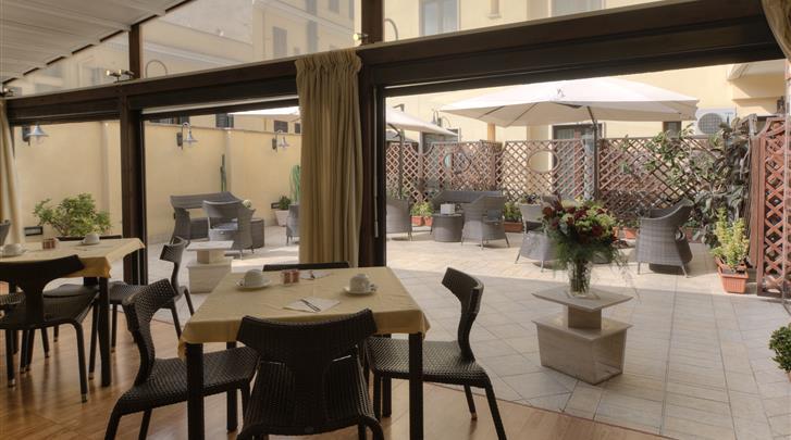 Rome, Hotel Galileo, Restaurant