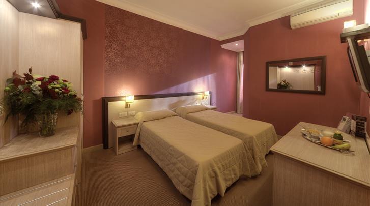 Rome, Hotel Galileo, Standaard kamer
