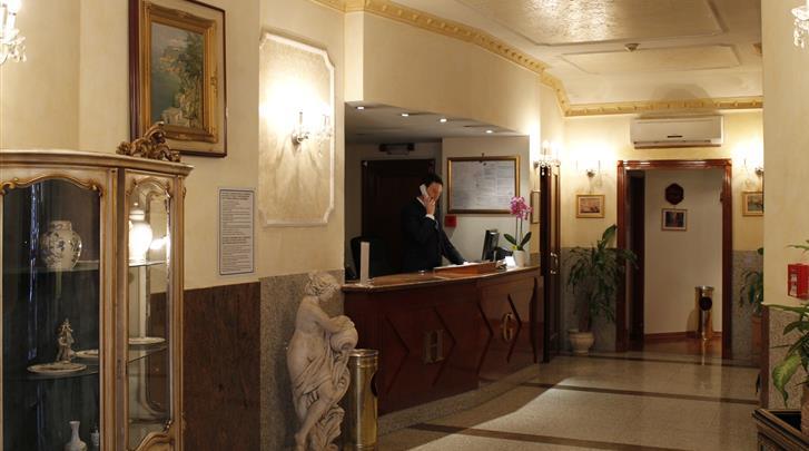 Rome, Hotel Genio, Receptie