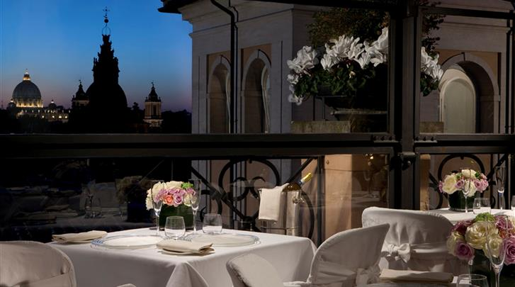 Rome, Hotel GH de la Minerve, Dakterras panorama