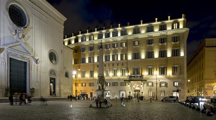 Rome, Hotel GH de la Minerve, Piazza della Minerva