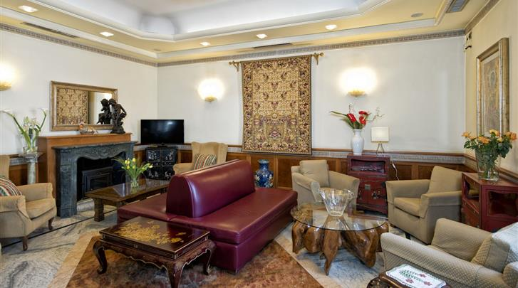 Rome, Hotel Giolli, Lobby