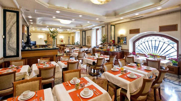 Rome, Hotel Giolli, Restaurant