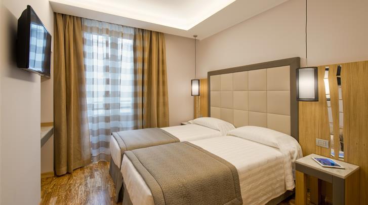 Rome, Hotel Giolli, Standaard kamer
