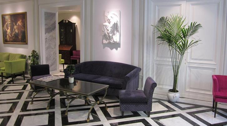 Rome, Hotel Imperiale, Lobby