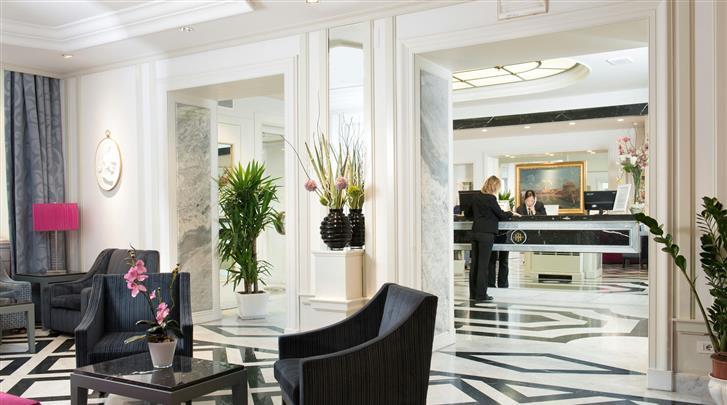 Rome, Hotel Imperiale, Receptie