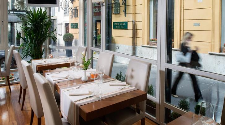 Rome, Hotel Imperiale, Restaurant
