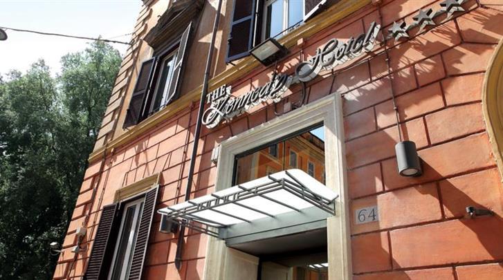 Rome, Hotel Kennedy, Façade hotel