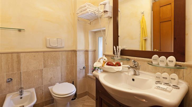 Rome, Hotel La Fenice, Badkamer
