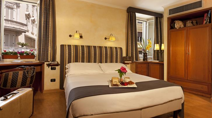 Rome, Hotel La Fenice, Standaard kamer