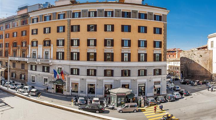 Rome, Hotel Nord Nuova Roma, Façade hotel
