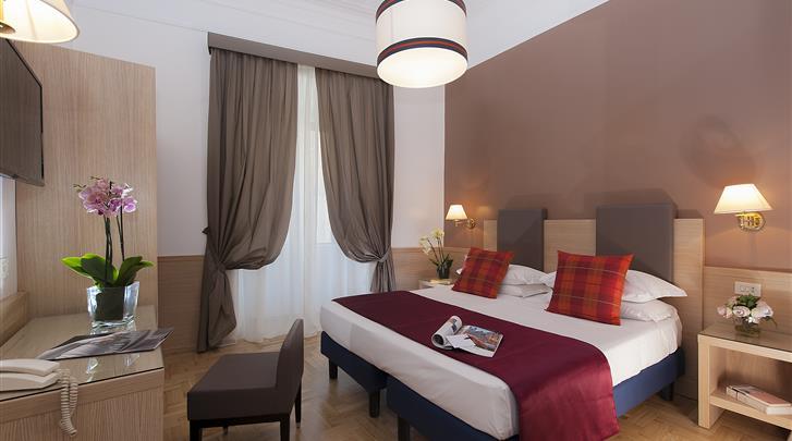Rome, Hotel Nord Nuova Roma, Standaard kamer