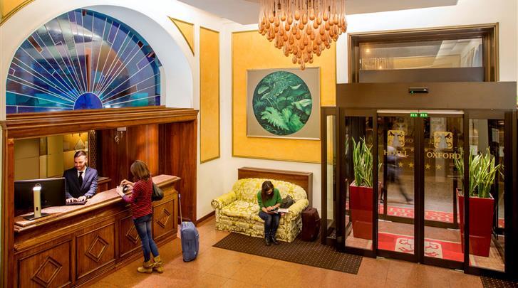 Rome, Hotel Oxford Rome, Receptie