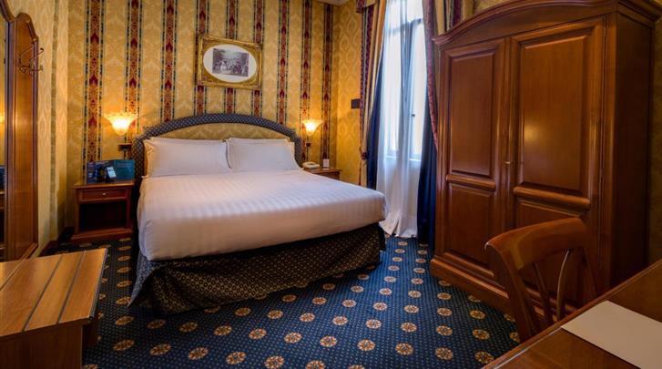 Rome, Hotel Raffaello, Standaard kamer