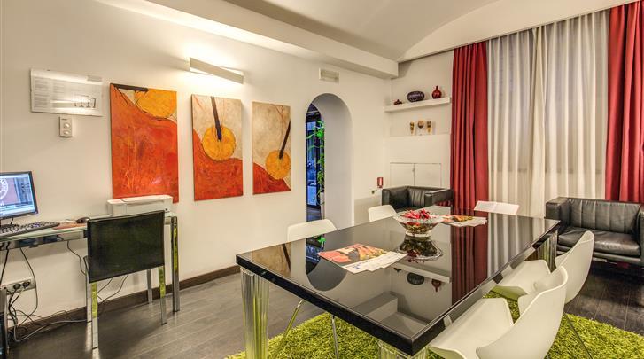 Rome, Hotel Rinascimento, Lobby