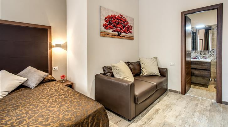 Rome, Hotel Rome Garden, 4-persoonskamer
